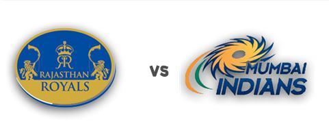 Rajasthan Royals v Mumbai Indians, IPL 2015, Ahmedabad